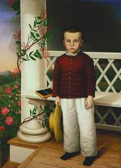 <b>Attributed to James B. Read</b>,<br>American, active 1859-70<br><b>Portrait of a Boy</b>, 1856<br>Oil on canvas