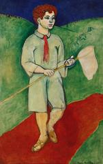 Henri Matisse, French (1869-1954), <i>Boy with a Butterfly Net</i>, 1907, oil on canvas ©Succession H. Matisse, Paris / Artists Rights Society (ARS), New York