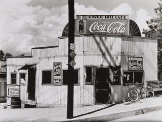 Walker Evans, <i>Roadside Restaurant, Alabama</i>, 1936, gelatin silver print