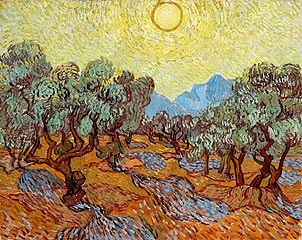 Vincent van Gogh (Dutch, 1853–90)<br><b><i>Olive Trees</b></i>, 1889<br>Oil on canvas