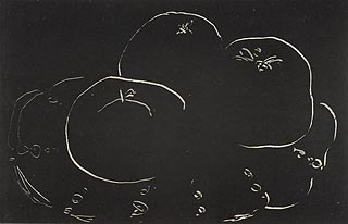 Henri Matisse, French (1869-1954), <i>Three Apples and Plate</i>, 1914-1915, monotype print ©Succession H. Matisse, Paris / Artists Rights Society (ARS), New York