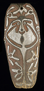 Papua New Guinea (Epagau Village), <i>Gope board</i>, 18th century, wood